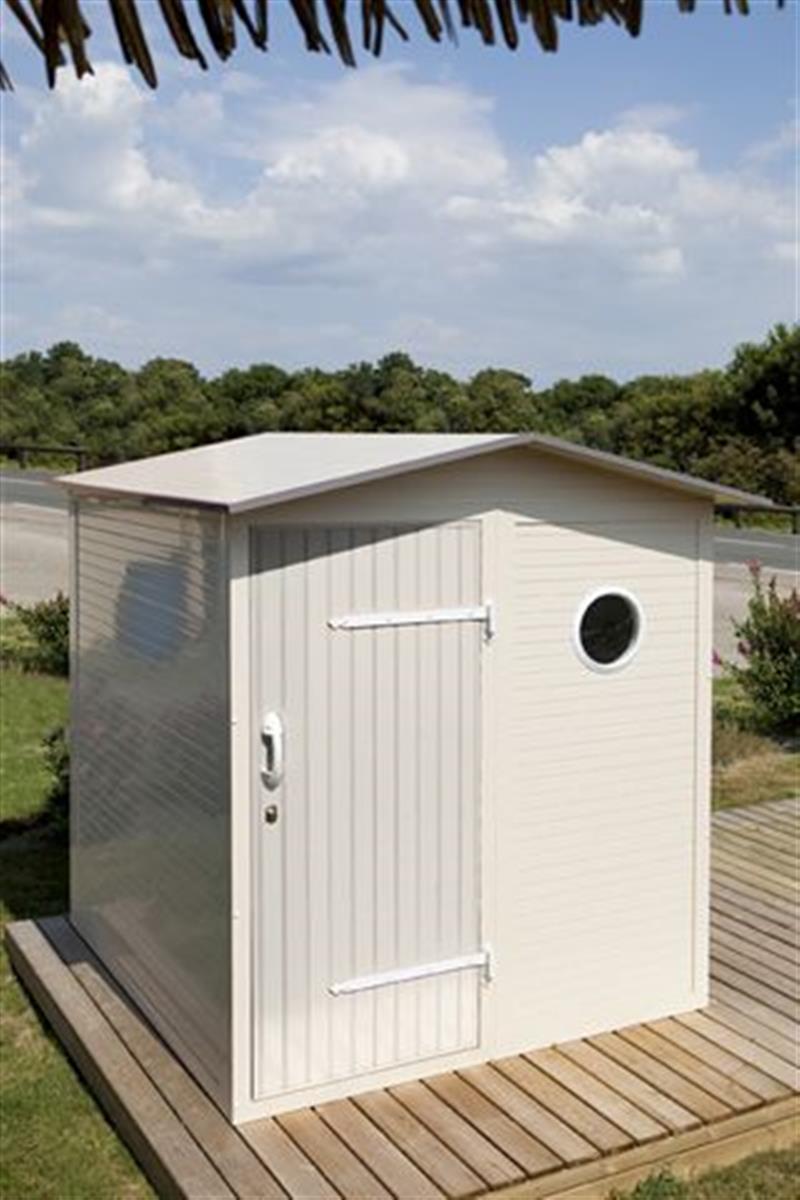 les cabanons samibois equipement de mobil home neuf et occasion camping bord de mer 29. Black Bedroom Furniture Sets. Home Design Ideas